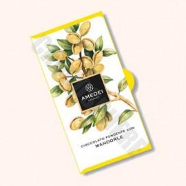 Amedei 'Cioccolato Fondente con Mandorle' Bar 50g