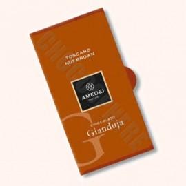 Amedei Toscano Nut Brown 'Cioccolato Gianduja' Bar 50g
