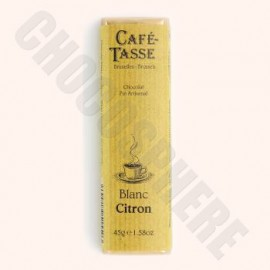 Cafe-Tasse Cafe-Tasse Blanc Citron Bar 45g