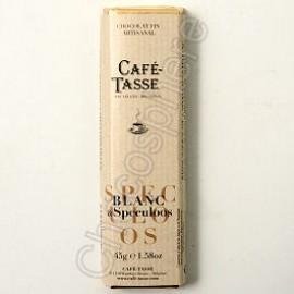 Cafe-Tasse Blanc & Speculoos Bar  45g