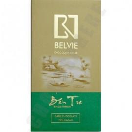 Belvie Ben Tre 70% Cacao Chocolate Bar - 80g