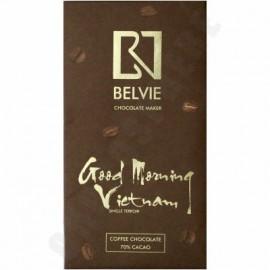 Belvie 'Good Morning Vietnam' 70% Cacao Chocolate Bar - 80g