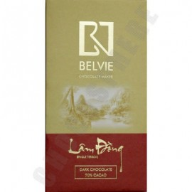 Belvie Lam Dong 70% Cacao Chocolate Bar - 80g