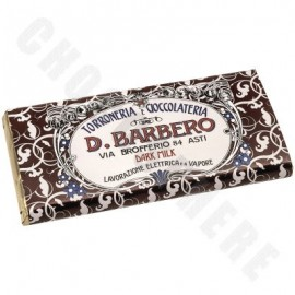 D. Barbero Dark Milk Chocolate Bar 80g