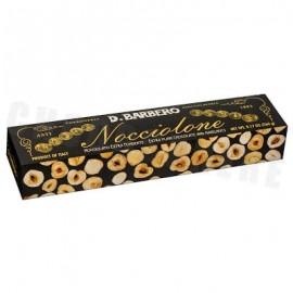 D. Barbero Nocciolone - Extra Dark Chocolate & Hazelnuts - 260g