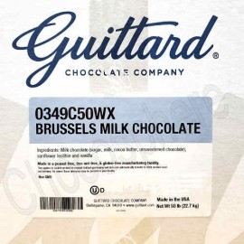 Guittard 'Brussels' Milk Chocolate Wafers - 50lb