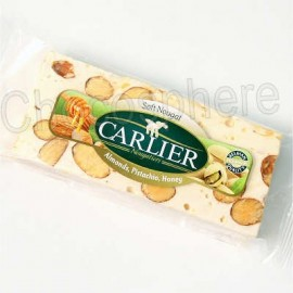Carlier Carlier Soft Nougat Bar 50g / 1.76 oz