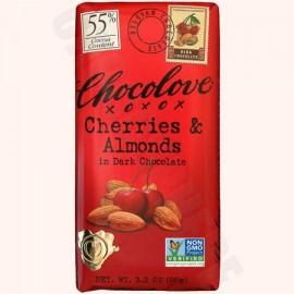 Chocolove Cherries & Almonds Bar 3.2oz