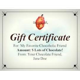 Chocosphere Gift Certificate
