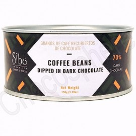 Sibo Chocolate Covered Coffee Beans Canister – 150g