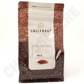 Callebaut Large Milk Chocolate Flakes - 1Kg