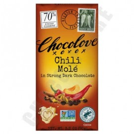Chocolove Chili Molé Dark Chocolate Bar 3.2oz
