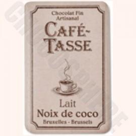Cafe-Tasse Lait Noix de Coco Mini Tab - 9g