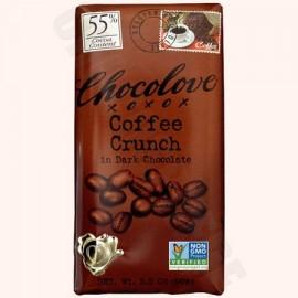 Chocolove Coffee Crunch Bar 3.2oz
