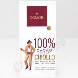 Domori Criollo 100% 50g Bar