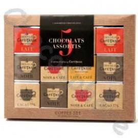 Cafe-Tasse 5-Flavour Napolitans 36-Piece Box