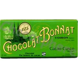 Bonnat Cacao Cusco Chocolate Bar 100g
