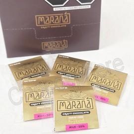 Marana Cusco Milk Chocolate Squares - 50% Cacao