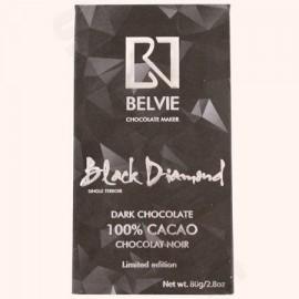 Belvie Black Diamond 80g Bar