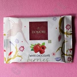 Domori 'To Go' White Chocolate with Berries Bar - 25g