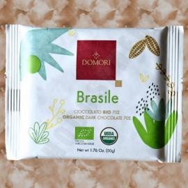 Domori Bio Brasile Organic Dark Bar 50g