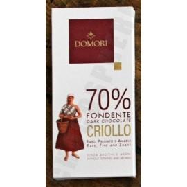Domori Criollo 70% 50g Bar