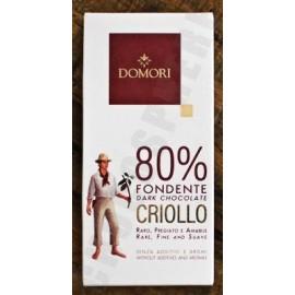 Domori Criollo 80% 50g Bar