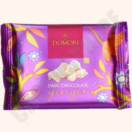 Domori Dark Chocolate with Ginger Bar - 25g