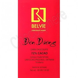 Belvie Don Duong 72% Cacao Chocolate Bar - 80g