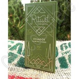 Ritual Chocolate Ecuador Camino Verde 75% Chocolate Bar
