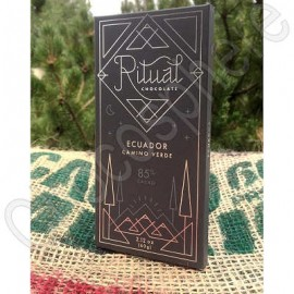 Ritual Chocolate Ecuador Camino Verde Chocolate Bar
