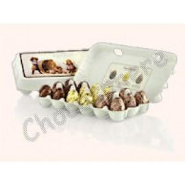 Cafe-Tasse 'Carton' of 18 Assorted Eggs