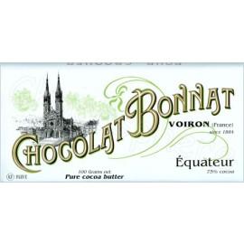 Bonnat Equateur Bar 100g