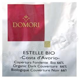 Domori Estelle Bio Organic 66% Cocoa Dark Chocolate Discs 5Kg