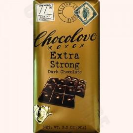 Chocolove Extra Strong Dark Bar 3.2oz