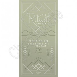 Ritual Chocolate Fleur De Sel Chocolate Bar