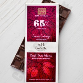 Gallette Cacao Catongo 65% Chocolate Bar - 100g