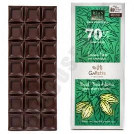 Gallette Bahia Forastero 70% Chocolate Bar - 100g