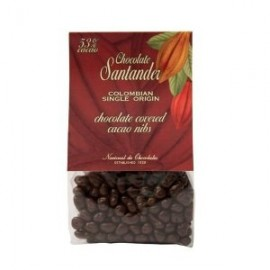 Santander Chocolate-Covered Cacao Nibs 250g, package varies from the photo