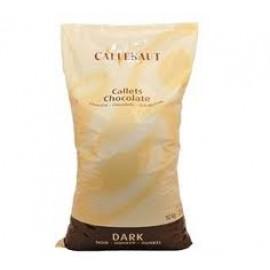 Callebaut Fair-Trade 811-NV Thin Semi-Sweet Callets 10Kg