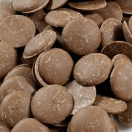 Guittard 'Soleil d'Or' Chocolate Wafers - 25Lb box