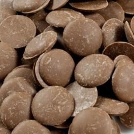 Guittard 'Brussels' Milk Chocolate Wafers - 1Kg