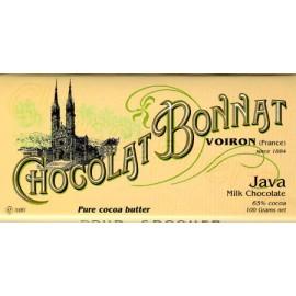 Bonnat Java Chocolate Bar 100g