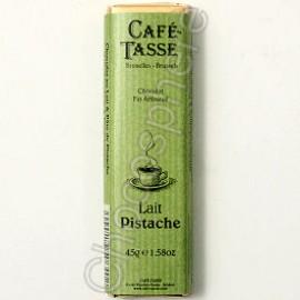 Cafe-Tasse Lait Pistache 45g Bar