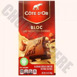 Cote d'Or Cote d'Or Milk with Whole Hazelnuts Bar