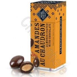 Michel Cluizel Amandes au Chaudron 120g - Chocolate Covered Roasted Caramelized Almonds