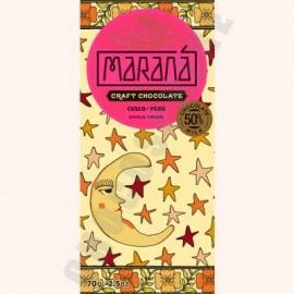 Marana Cusco Milk Chocolate Bar - 50% Cacao - 70g