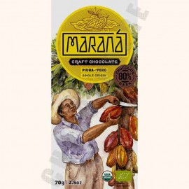 Marana Piura Dark Chocolate Bar - 80% Cacao - 70g
