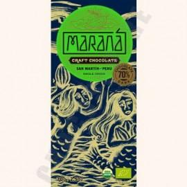 Marana San Martin Dark Chocolate Bar - 70% Cacao - 70g