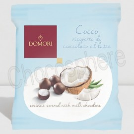 Domori Milk Chocolate Covered Coconut (Dragees Coconut) – 40g